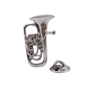 Flugel Horn polished silver-plated keyring gift musician teacher musician conductor